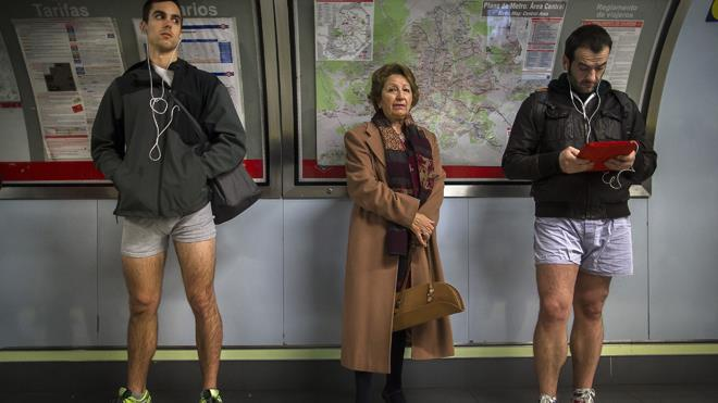 Spain No Pants Day