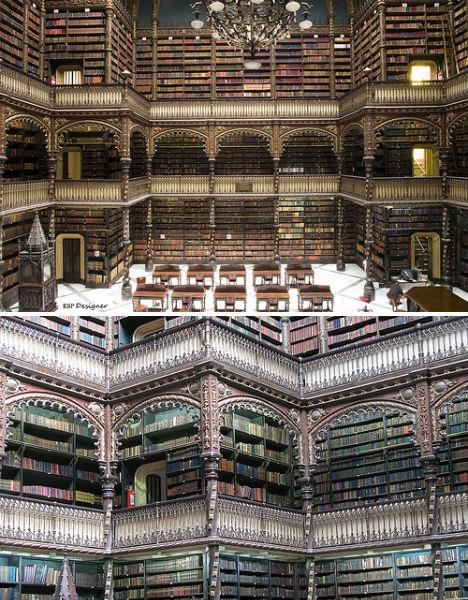 amazing-libraries-real-gabinete-portugues