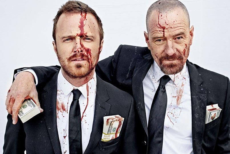 Walter White and Jesse