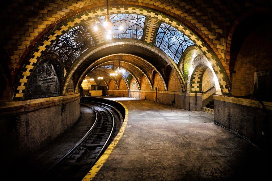 city hall metro station new york