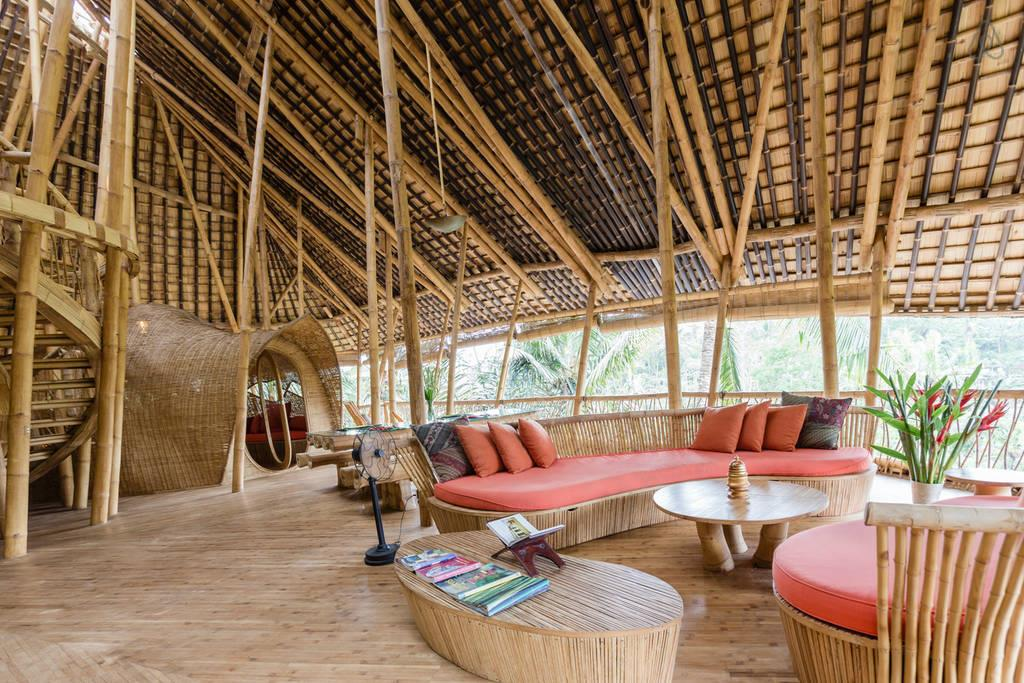 airbnb bamboo house