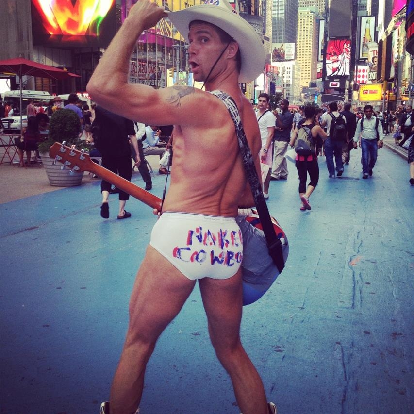 naked cowboy new york