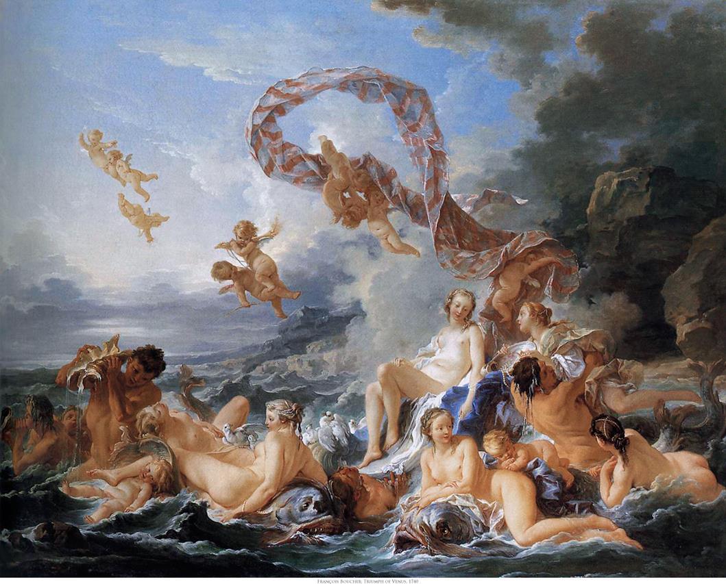 Le triomphe de Vénus