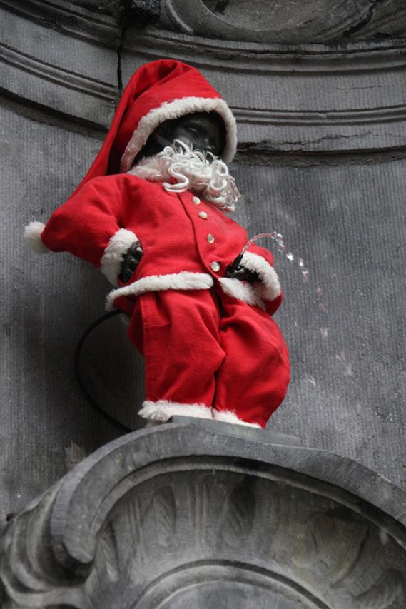 Manneken-pis-Noel