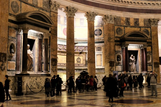 Pantheon İçi