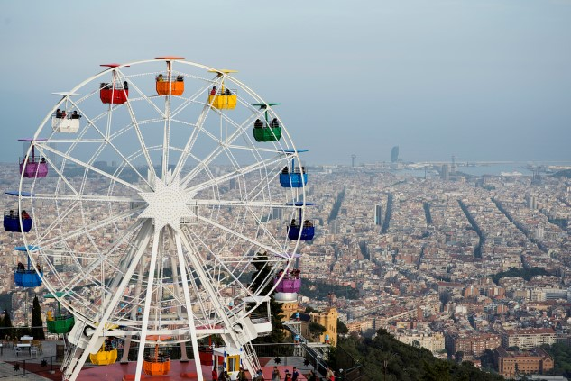 Tibidabo Barselona