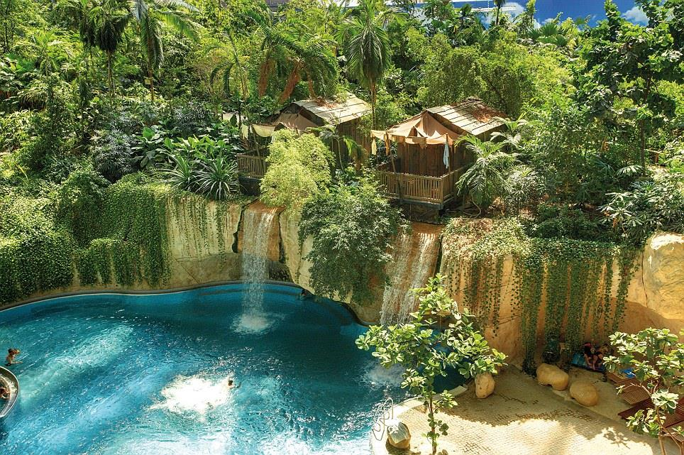Indoor Tropical Island