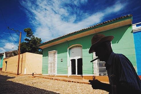 Trinidad'da kalabileceğiniz evler aşağı yukarı bu tatta olacak.