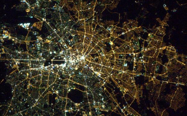 Berlin Satellite Image