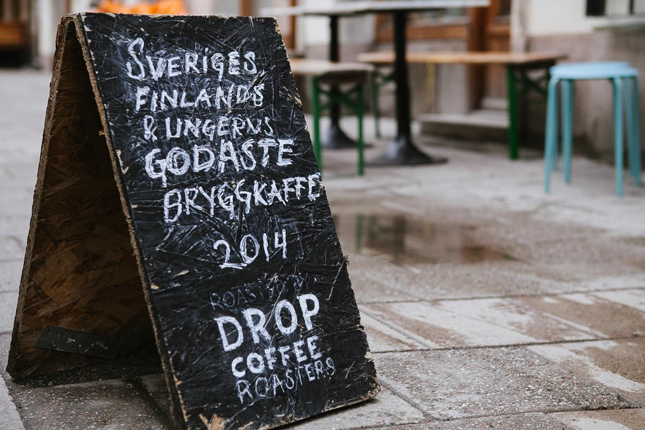 stockholm drop coffee