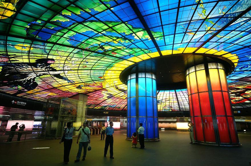 formosa boulevard taiwan metro station