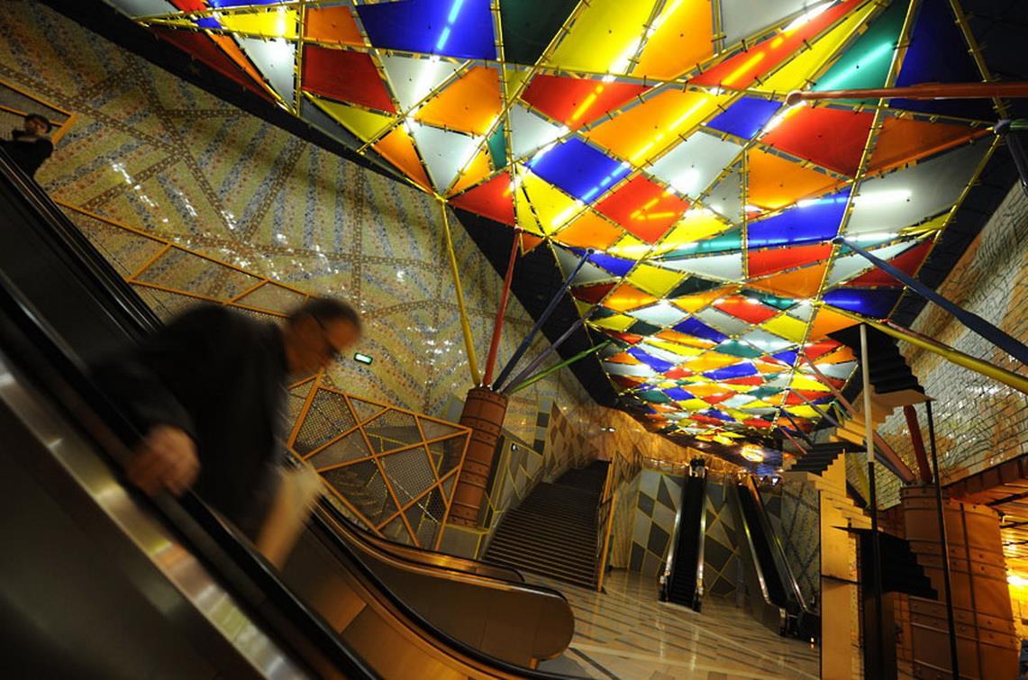 olaias metro station lisbon