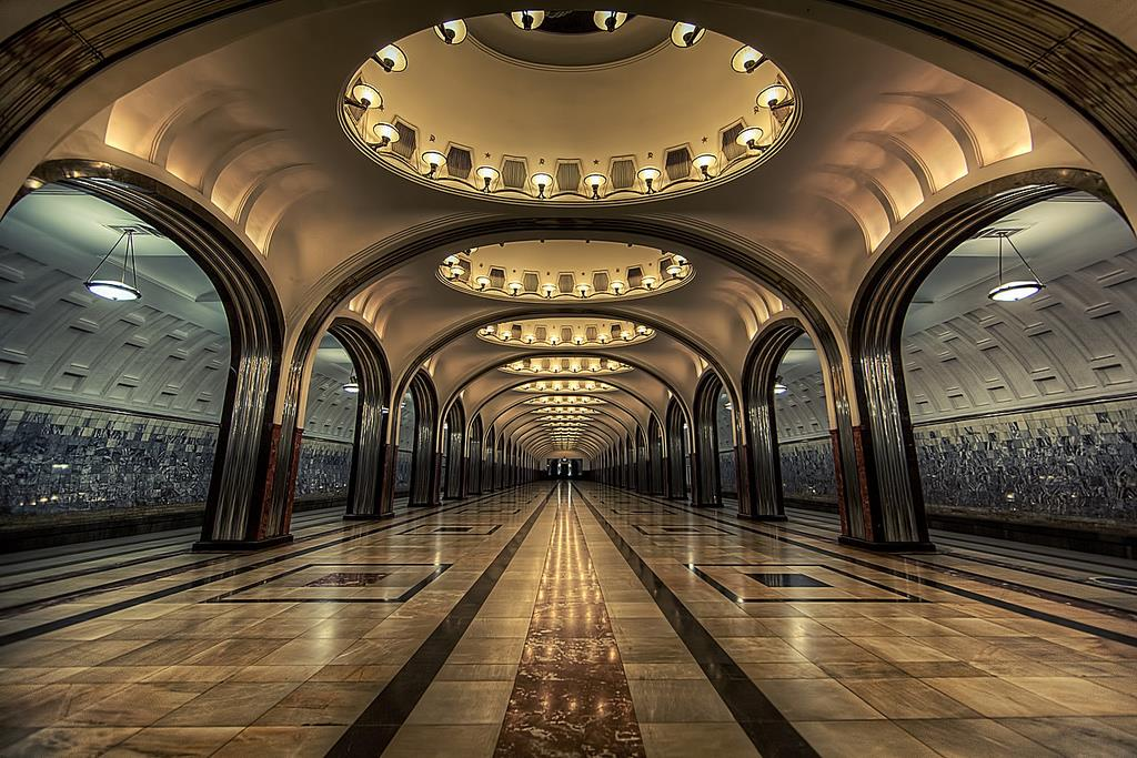 russia metro station