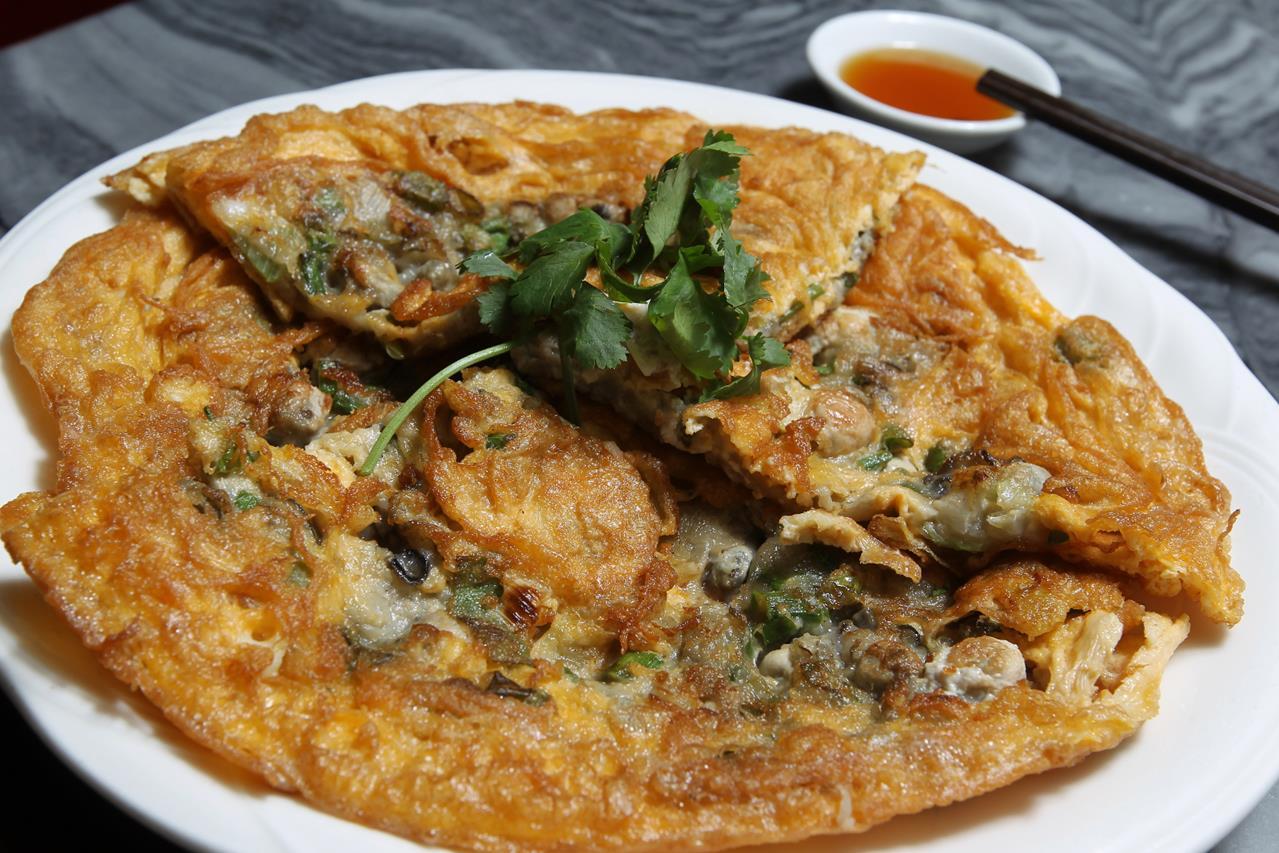 oyster omelette
