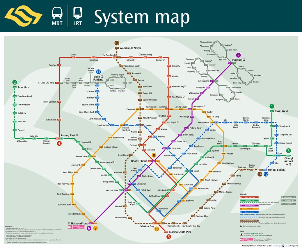 singapore metro map