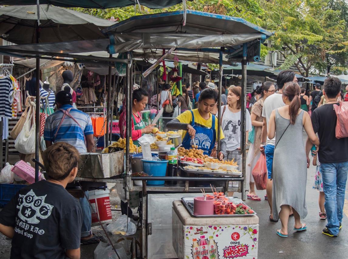thailand sokak yemekleri