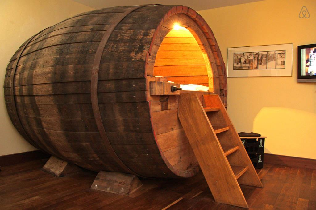 beer barrel airbnb