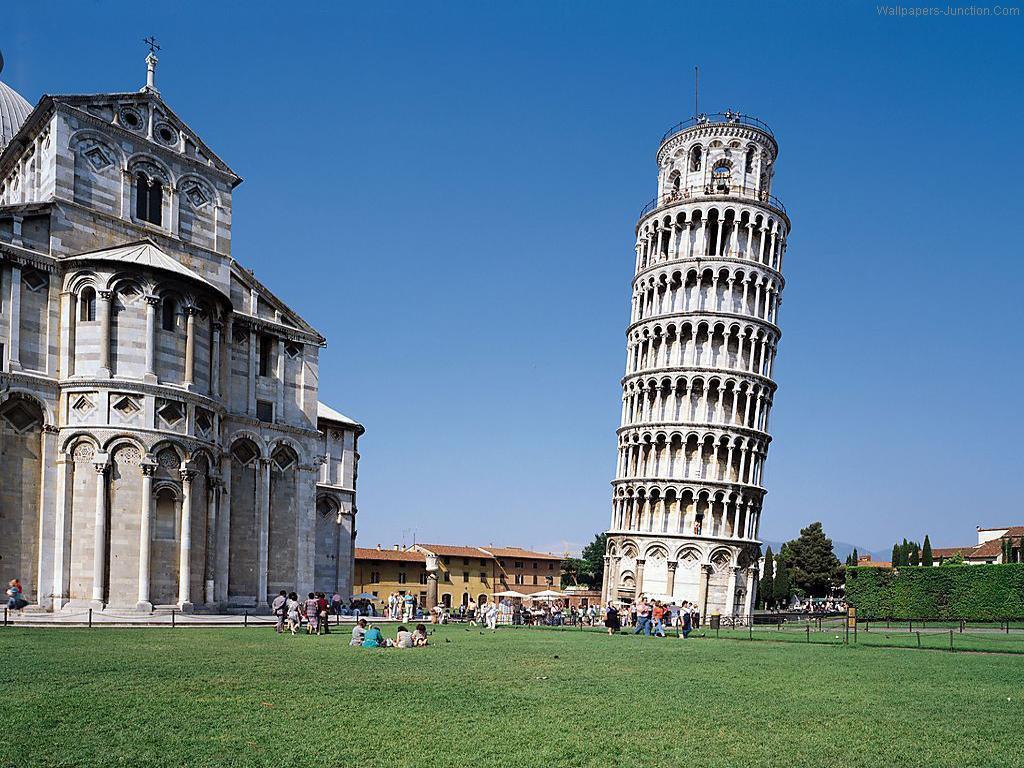 Pisa Kulesi İtalya