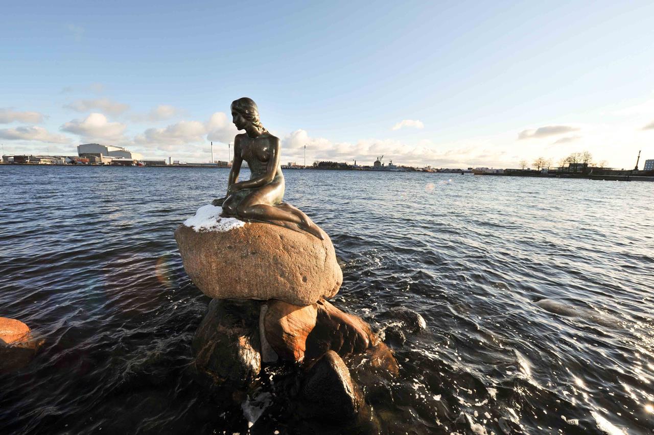 kopenhag deniz kızı heykeli
