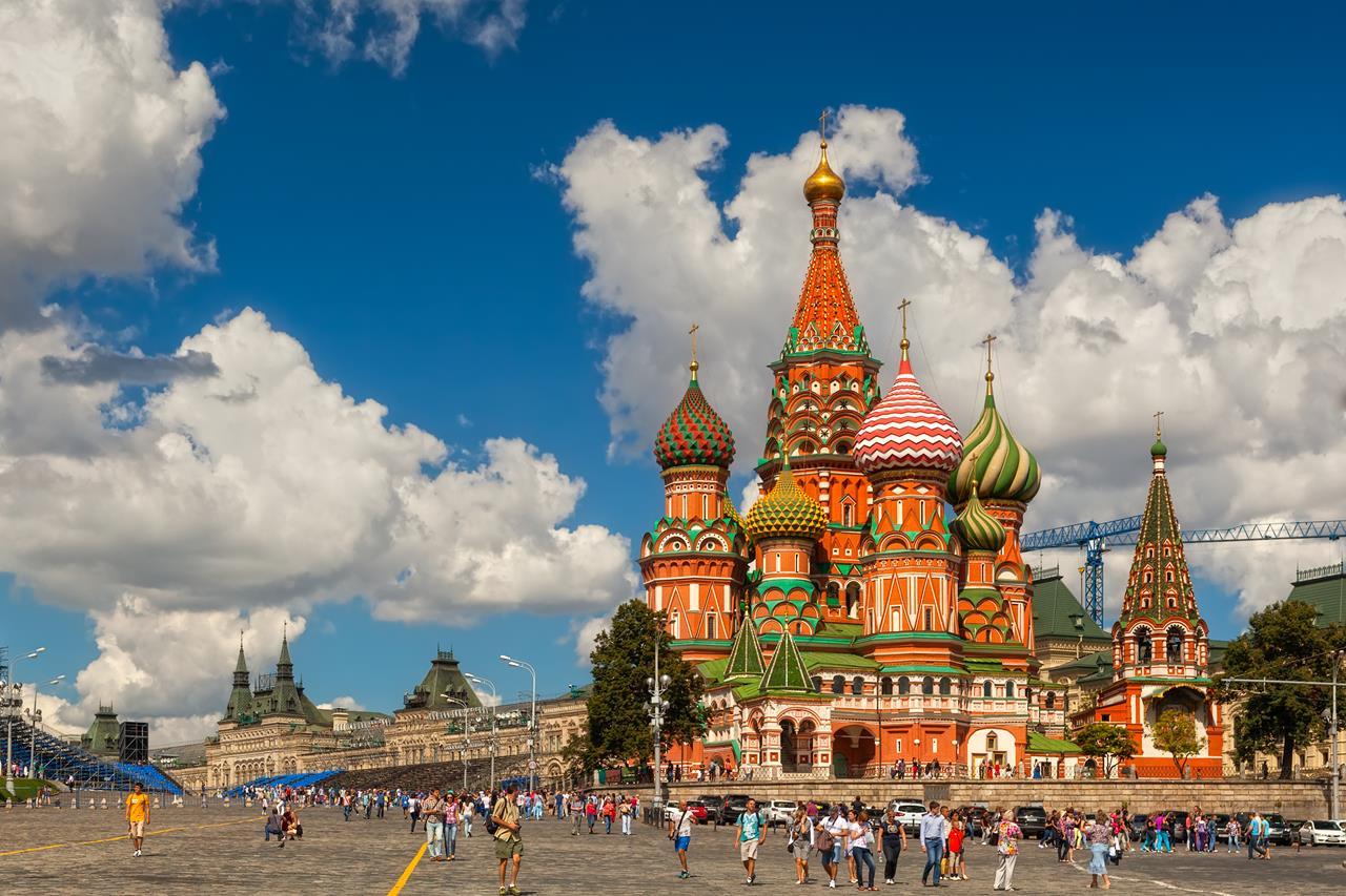 st basil's katedrali moskova