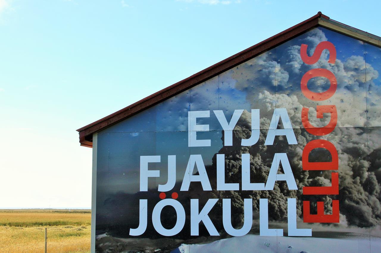 Eyjafjallajokull Yanardağı