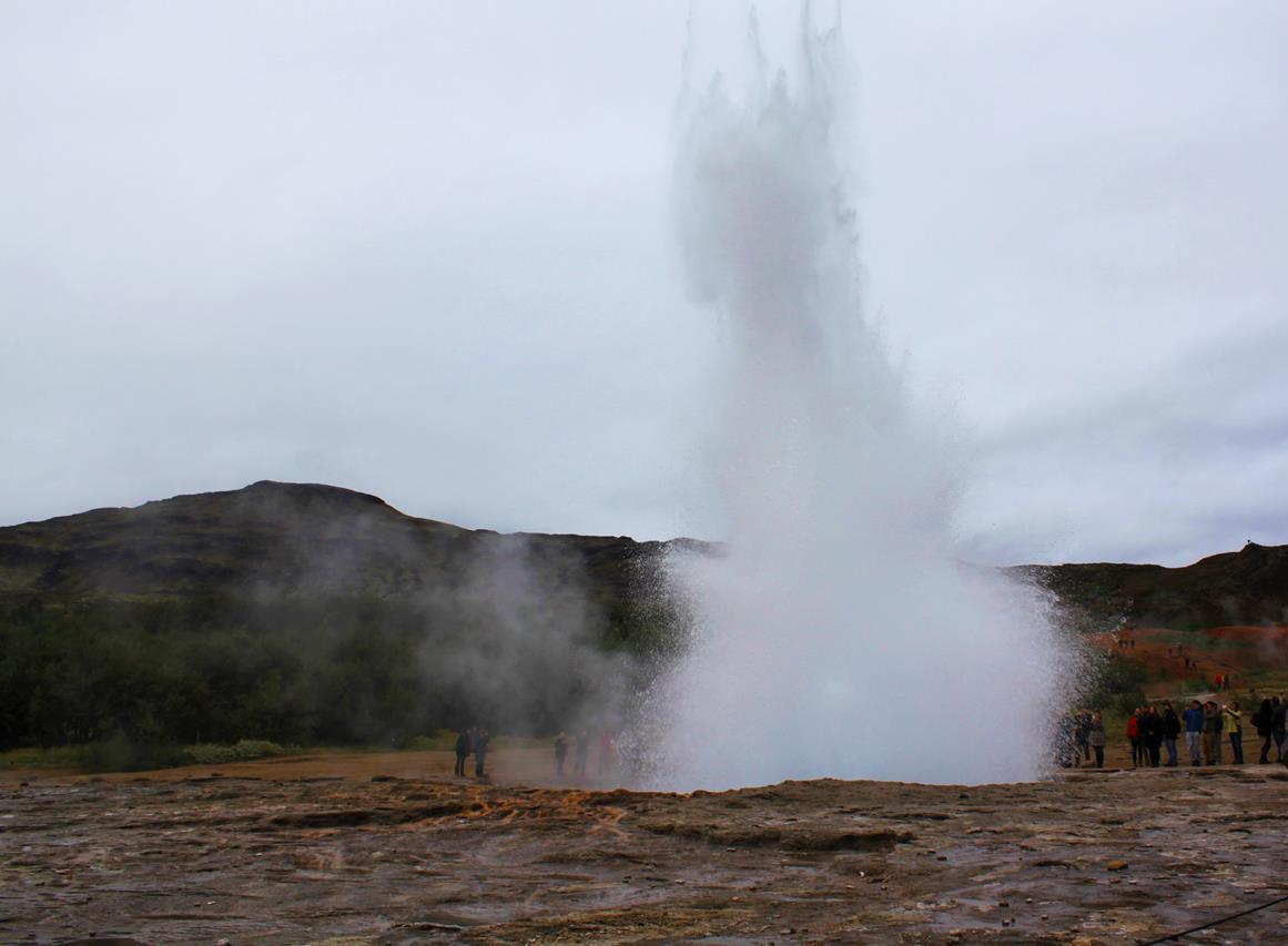 İzlanda Gayzer