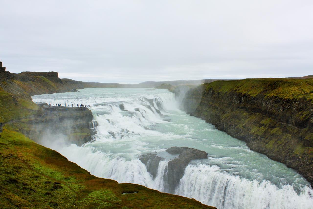 Gullfoss Şelalesi İzlanda