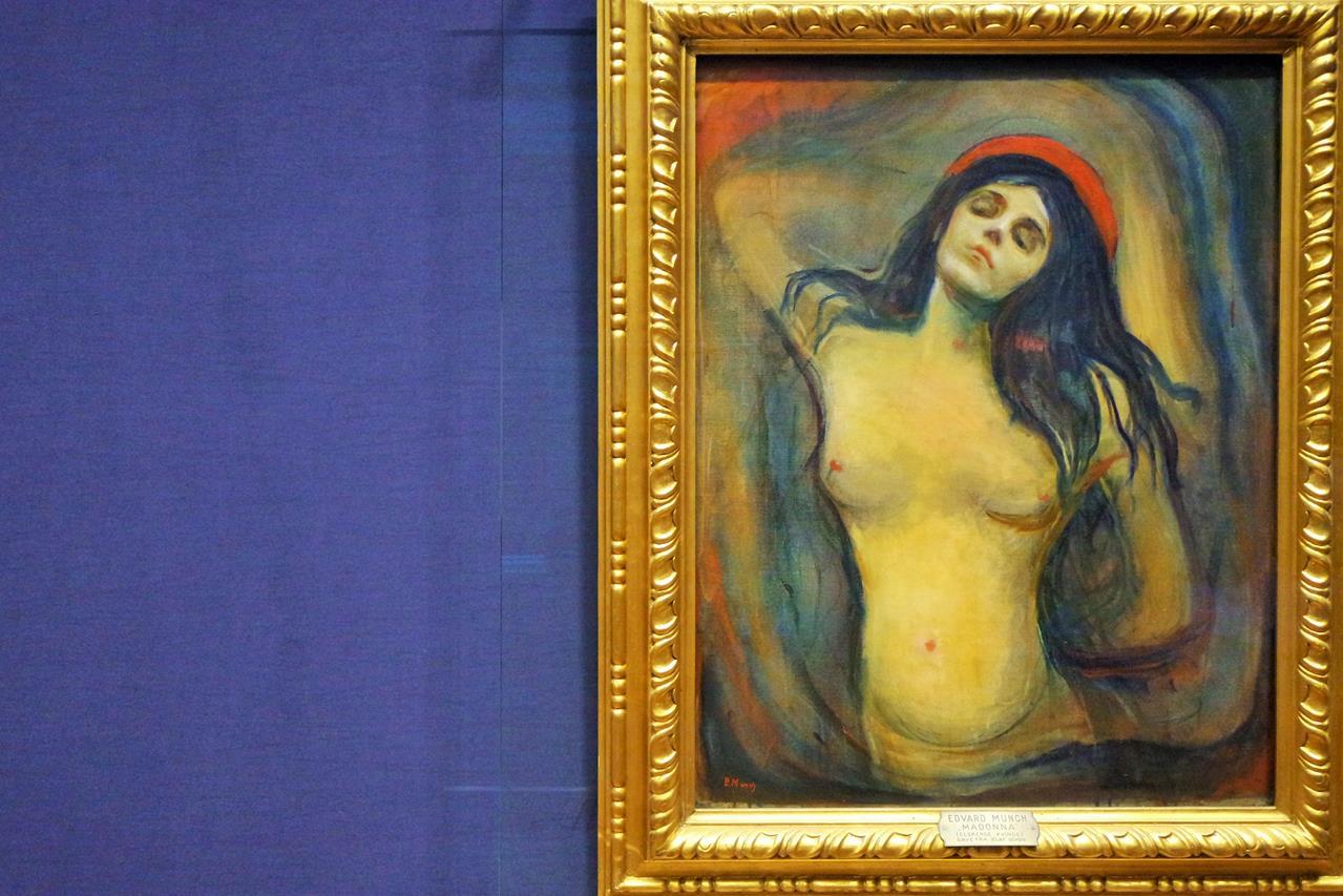 Edvar Munch Madonna