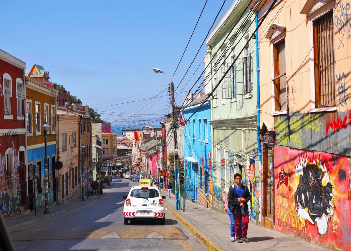 Valparaiso Şili