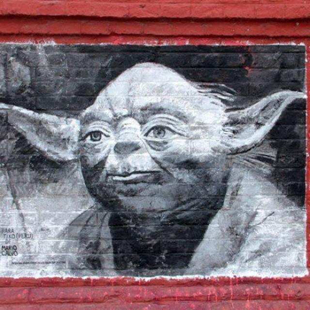 star wars sokak sanatı