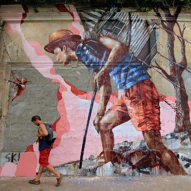 buenos aires sokak sanatı