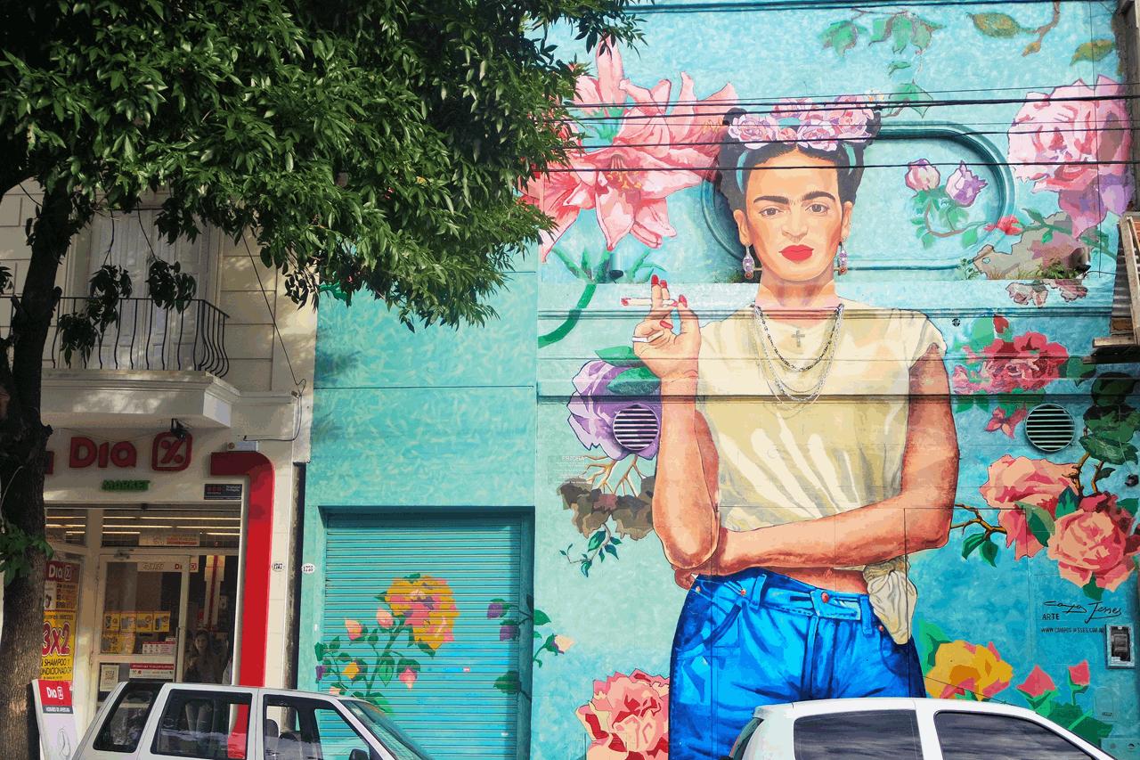 frida sokak sanatı