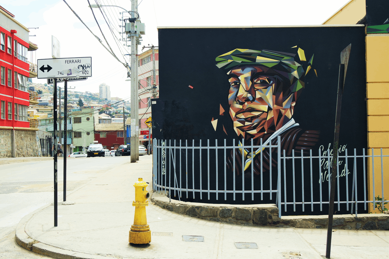 Pablo Neruda Valparaiso