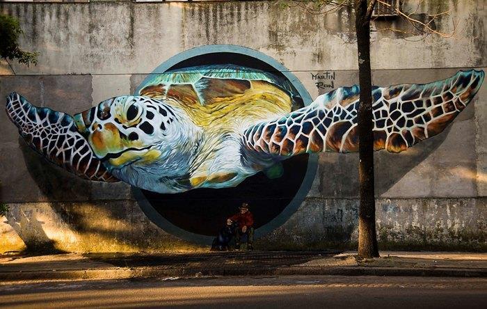 martin ron buenos aires sokak sanatı