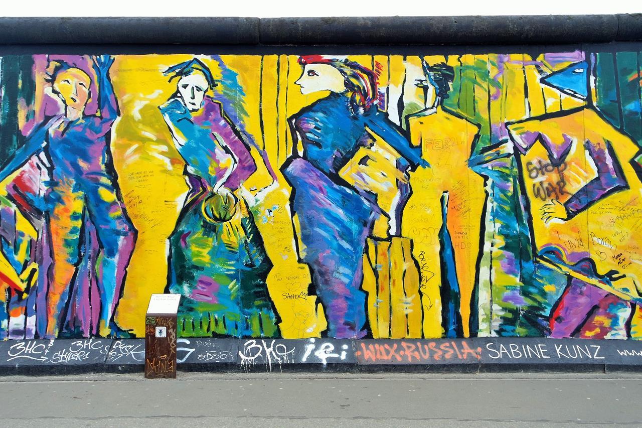 berlin duvarı