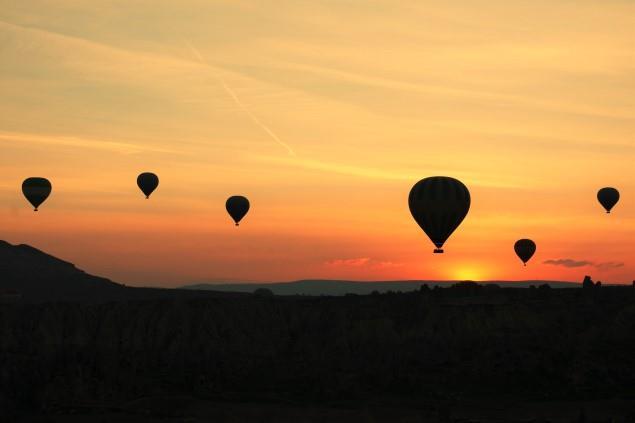 Kapadokya Gündoğumu