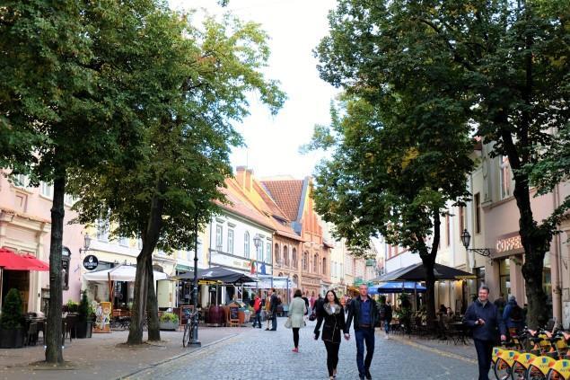 pilies street vilnius