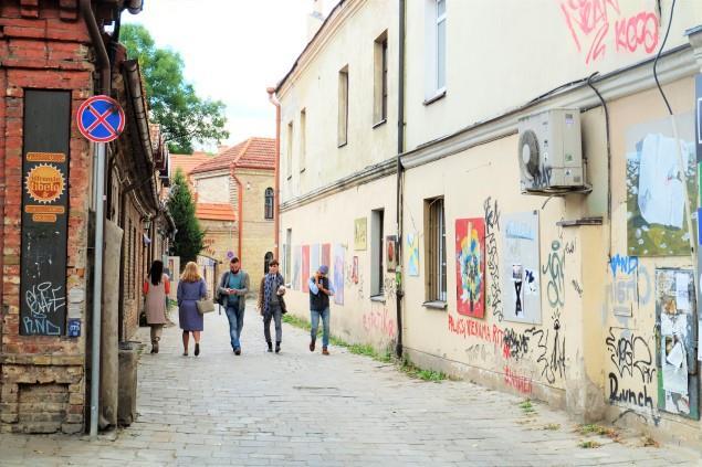 Uzupis Cumhuriyeti Vilnius