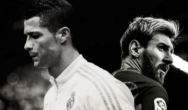 Ronaldo Messi El Clasico