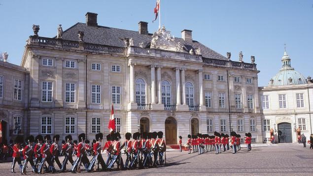 Amelienborg Kopenhag