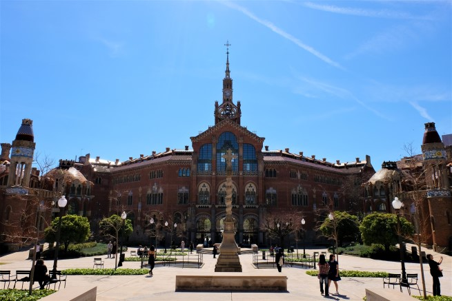 Sant Pau Hospital Barselona