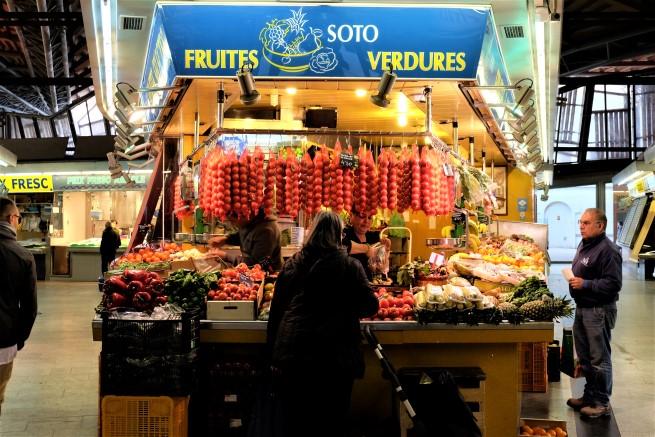 Barselona Santa Caterina Market