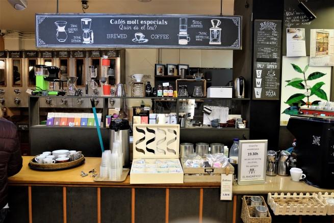 Cafes El Magnifico Barcelona
