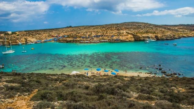 Comino Adası Malta