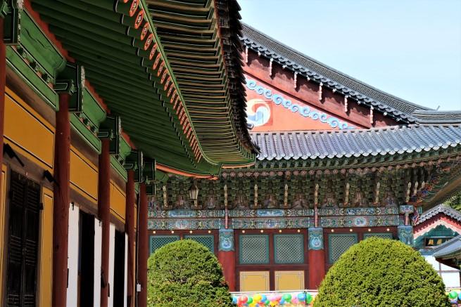 Güney Kore tapınak