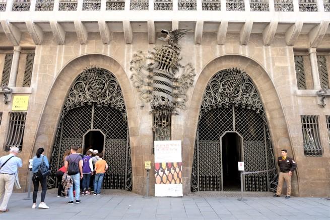 Palau Güell Barselona