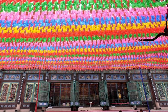 güney kore'de tapınaklar