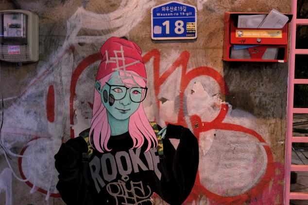 seul sokak sanatı