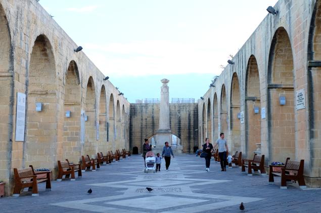 Upper Barrakka Gardens Malta