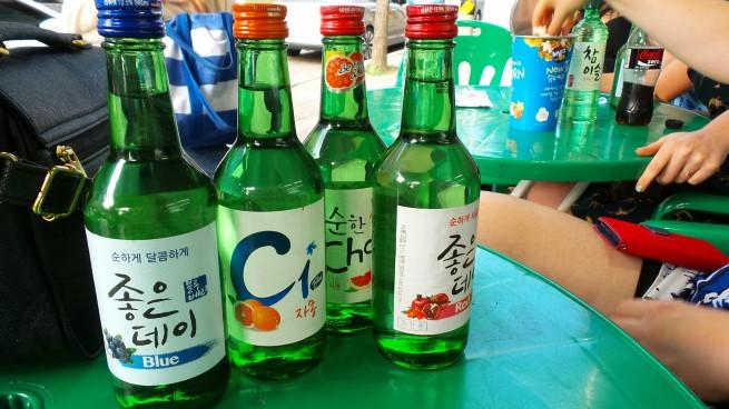 Soju Güney Kore